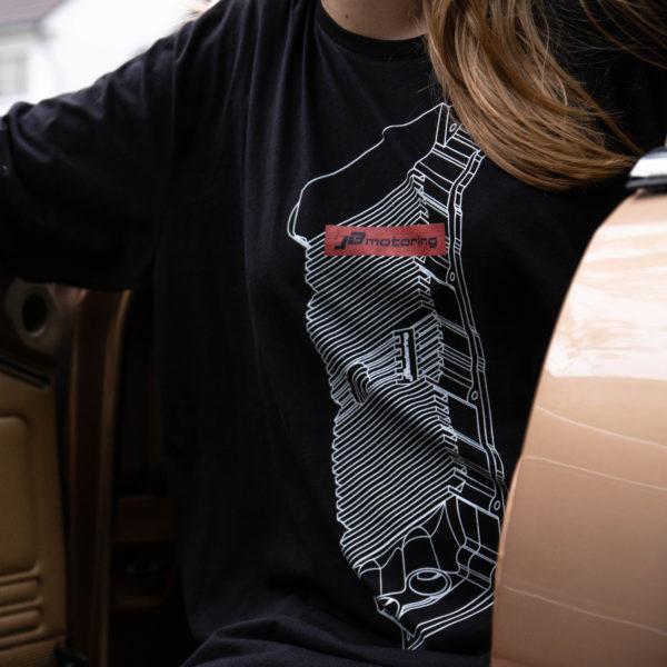 JB-Motoring Merchandise T-Shirt mit VR6 Ventildeckel